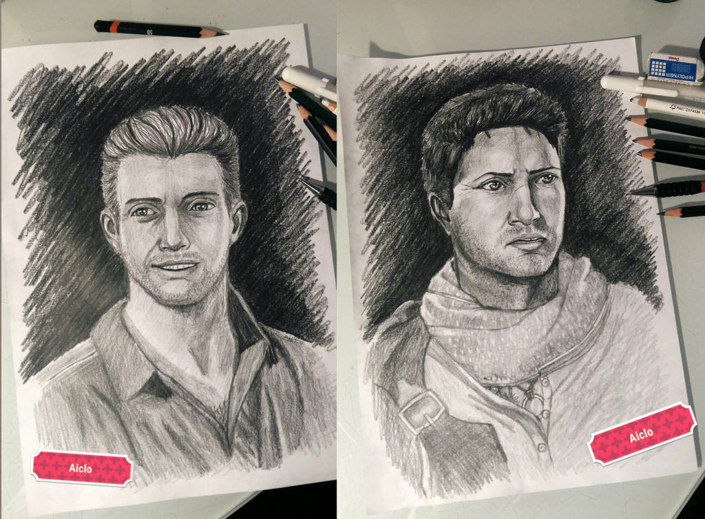 Uncharted - Rafe Adler / Nathan Drake by Aiclo