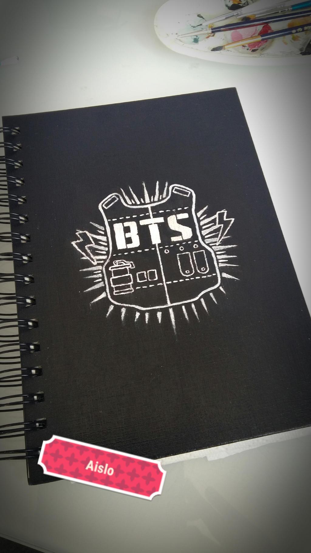 Sketchbook BTS by Aiclo