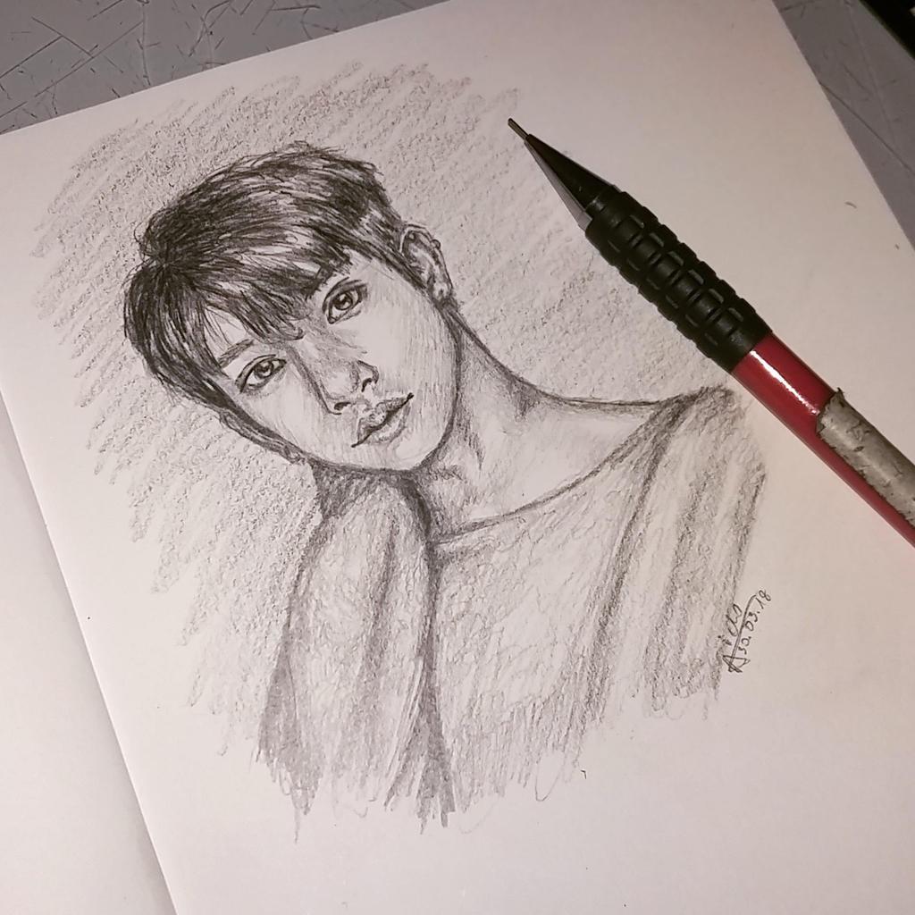SEVENTEEN Joshua [sketchbook] by Aiclo