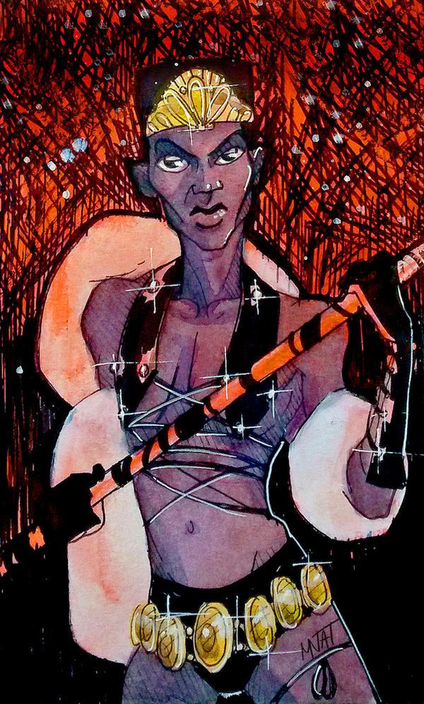 Zula the Warrior by MNat