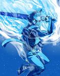 Blue Wraith Redux by MNat