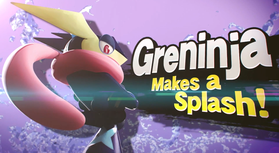 Super Smash Bros  Greninja Makes Splash  by SydraxeGreninja Super Smash Bros