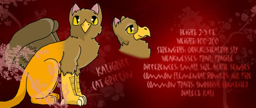 The Three Griffin's bios :Kali by PokemonStar-Eevee