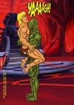 Kobra Khan vs He-Man-24 Bearhug