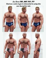 Zac Efron WWE 2K19 PS4 2 attires