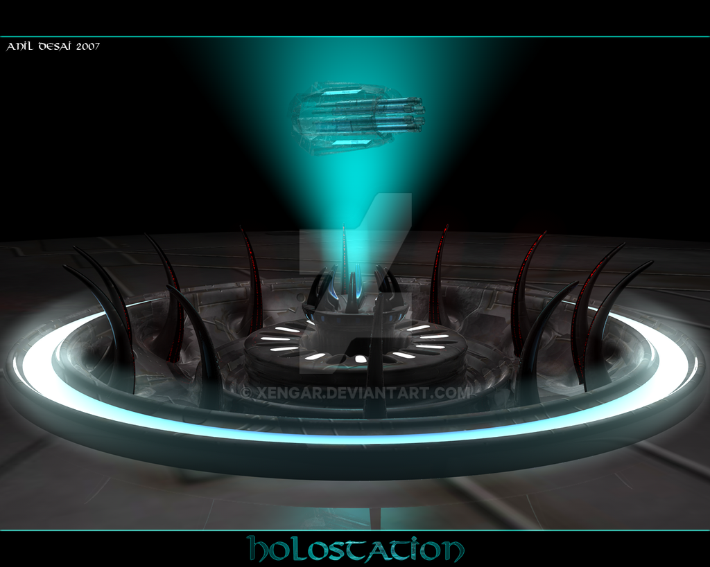 Holographic Database by Xengar
