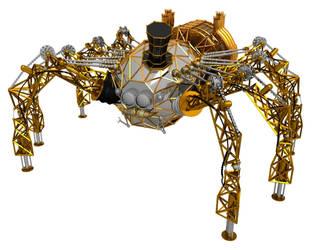 Steampunk Spider Basic Texture by Neon2005