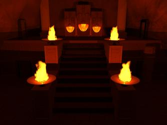 LOZ: OOT - Fire Temple by Neon2005