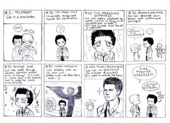 Castiel's Secret Techniques by Nimloth87