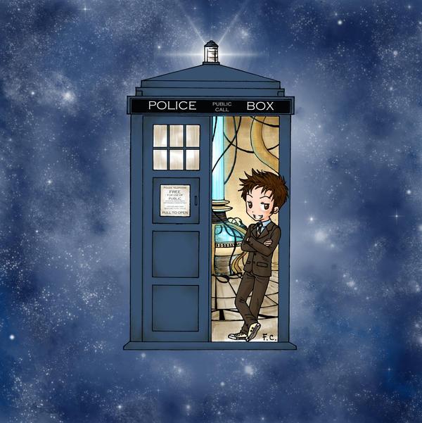Tenth Doctor chibi by Nimloth87