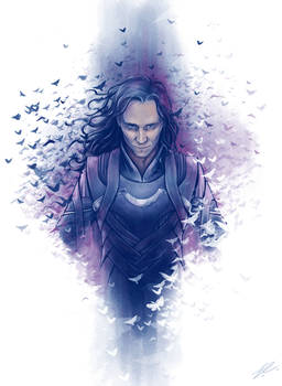 Oh look, a Loki fanart, that's unusual.