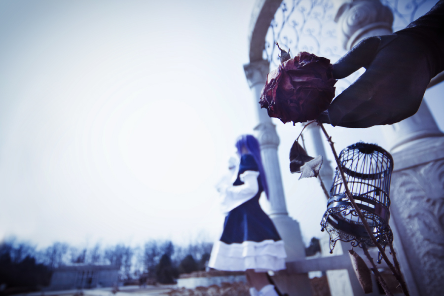 umineko_caged spirits by hybridre