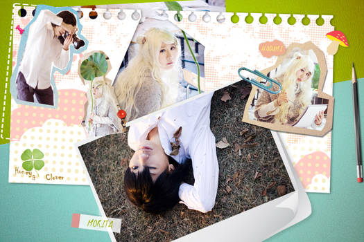 Honey and Clover_my notebook