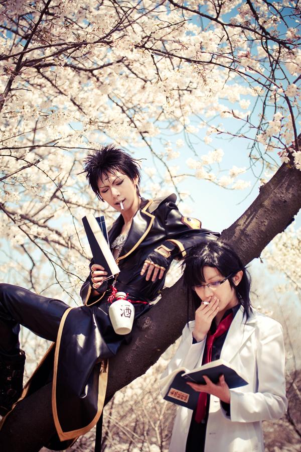 Saiyuki Gaiden_peaceful time by hybridre
