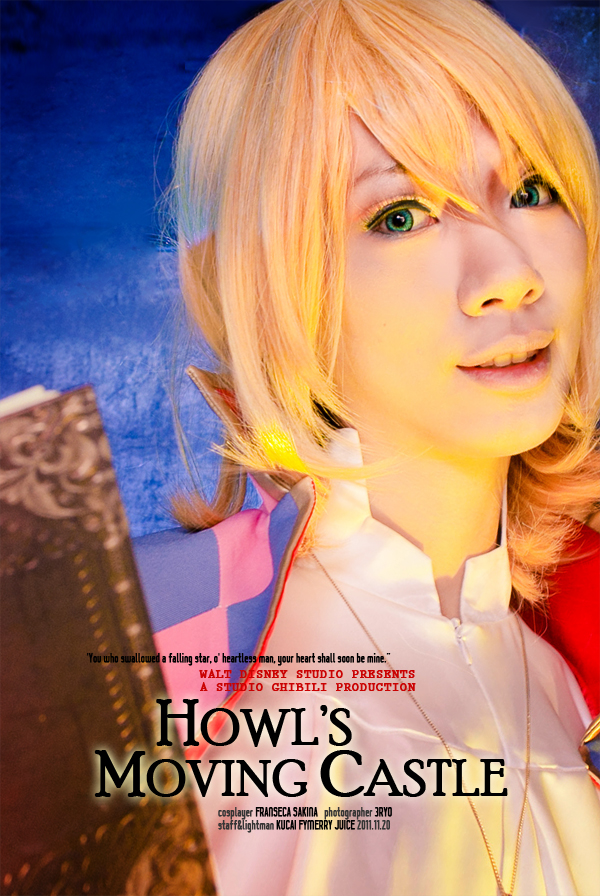 Howl's Moving Castle_magician by hybridre