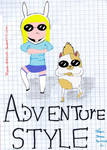 Adventure Style By Fionna y Cake 2
