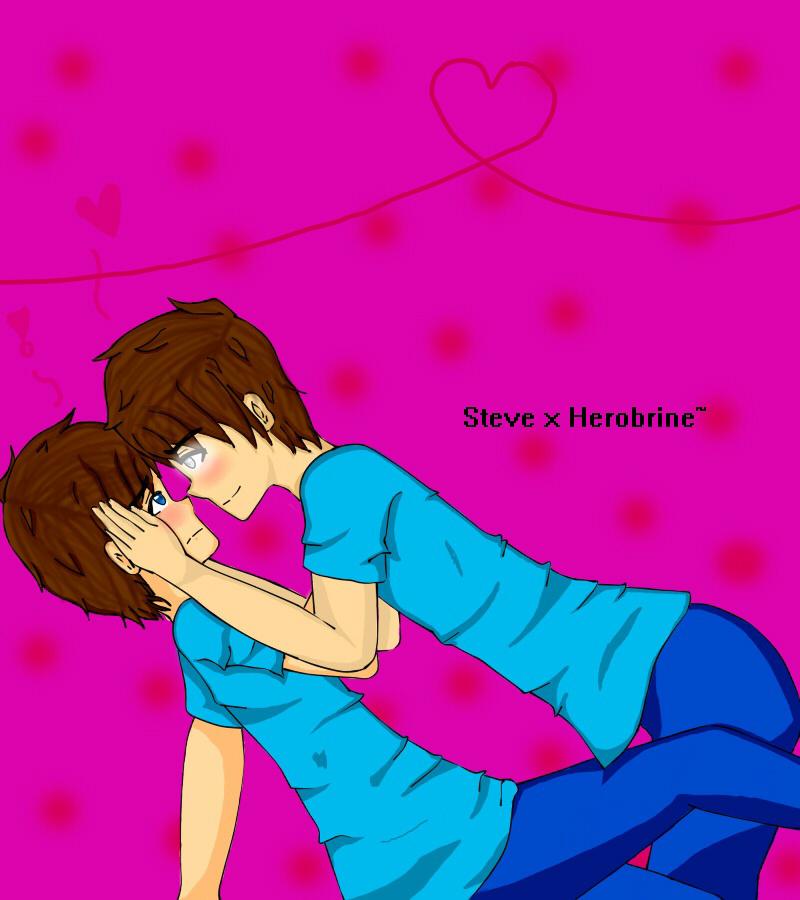Steve x Herobrine~ by Fionna-lahumana - 244.0KB