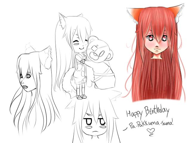Happy Birthday Pakkuma! by Hinata-Miyako