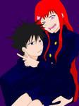 Megumi and Sayaka