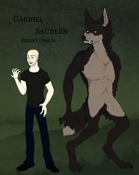 Gabriel Saudern - Moontouched by plaidsneaker101