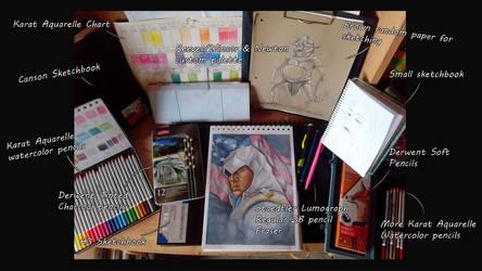 Art Supplies 2015