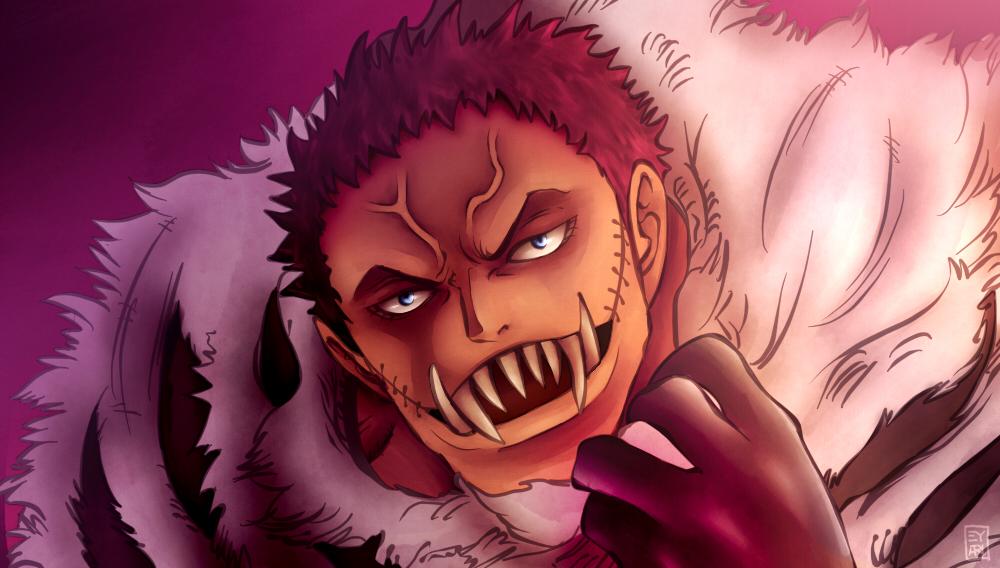 One Piece 883 Charlotte Katakuri By Eyaririri On Deviantart