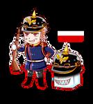 Hetalia Chibi Deutsches Reich  by MonstaBronyGermerica
