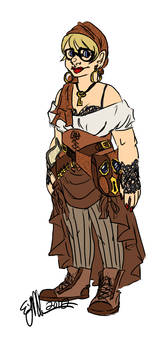 Steampunk Outfit Idea