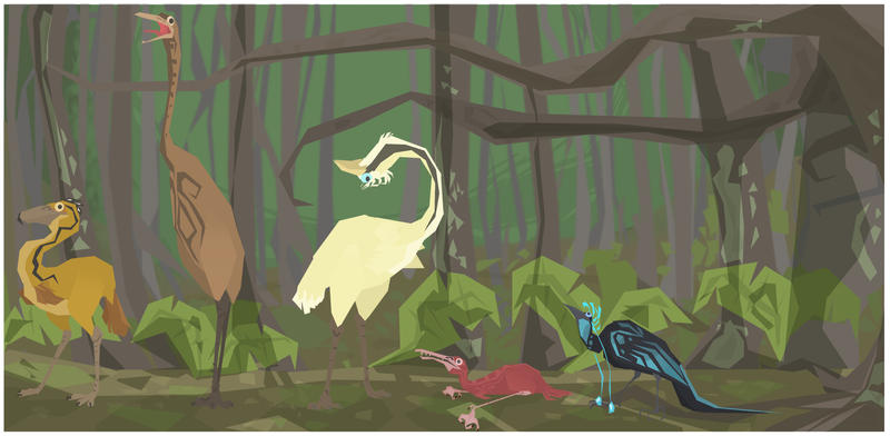 birds by RAE-J