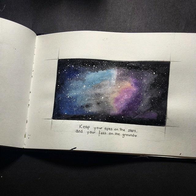 Galaxy by Bibb-chan