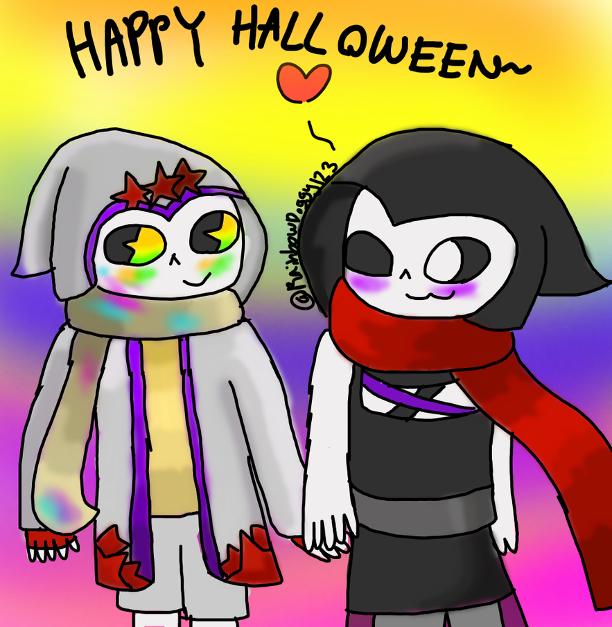Happy Poth Halloween! by RainbowDoggy123