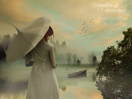 Misty Morning - Collaboration with nikkidoodlesx3