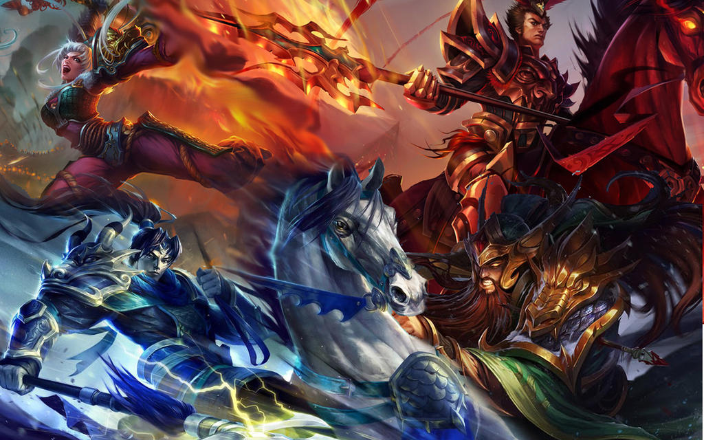 Warring Kingdoms by il...
