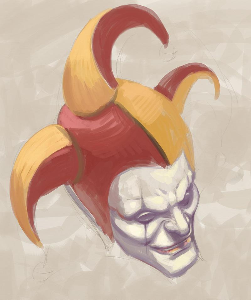 Joker Sketch by KatLouhio
