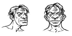 Character sketch by KatLouhio