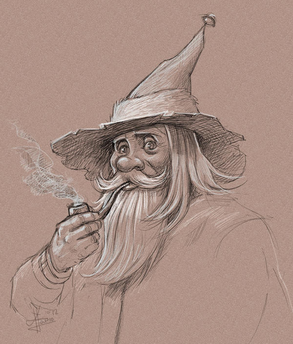 Wizard by KatLouhio