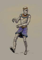 A mummy by KatLouhio