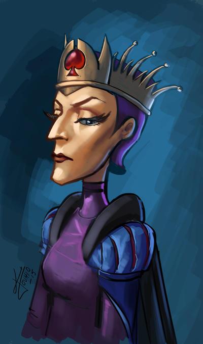 Queen of Spades by KatLouhio
