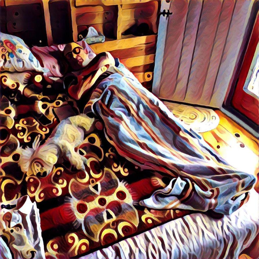 Sleeping by BLDRDSH