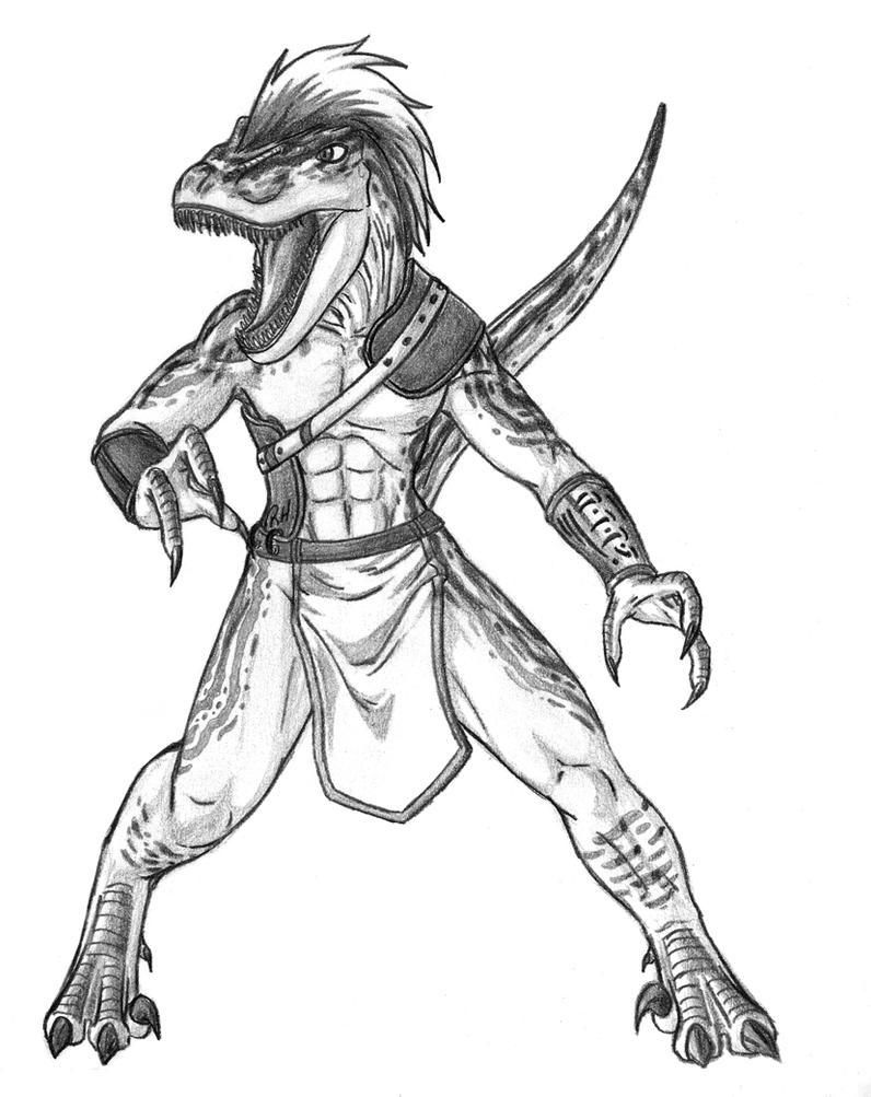 Anthrosaurs - M Velociraptor 2 by Predaguy