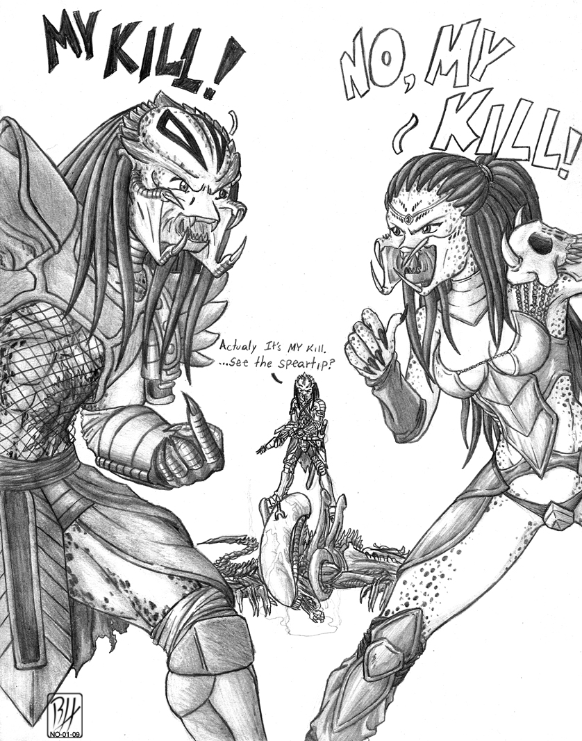 MY KILL by Predaguy on DeviantArt