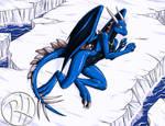 Skaoi the Ice Dragon by Predaguy