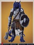 Valkynar the Dragonborn Cleric