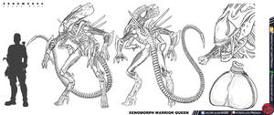 XENOMORPH: Lucky Star - Warrior-Queen by Predaguy