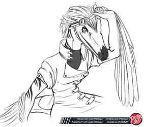 Troodon OC by Predaguy