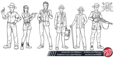 Jurassic World: Uprising - Group 01 by Predaguy