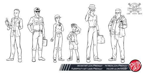 Jurassic World: Uprising - Group 02 by Predaguy
