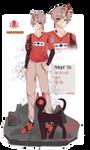 [Open]Adoptable26/Oni,Fashion by NTArt1121