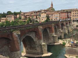 Le pont vieux d'Albi. by Z-image