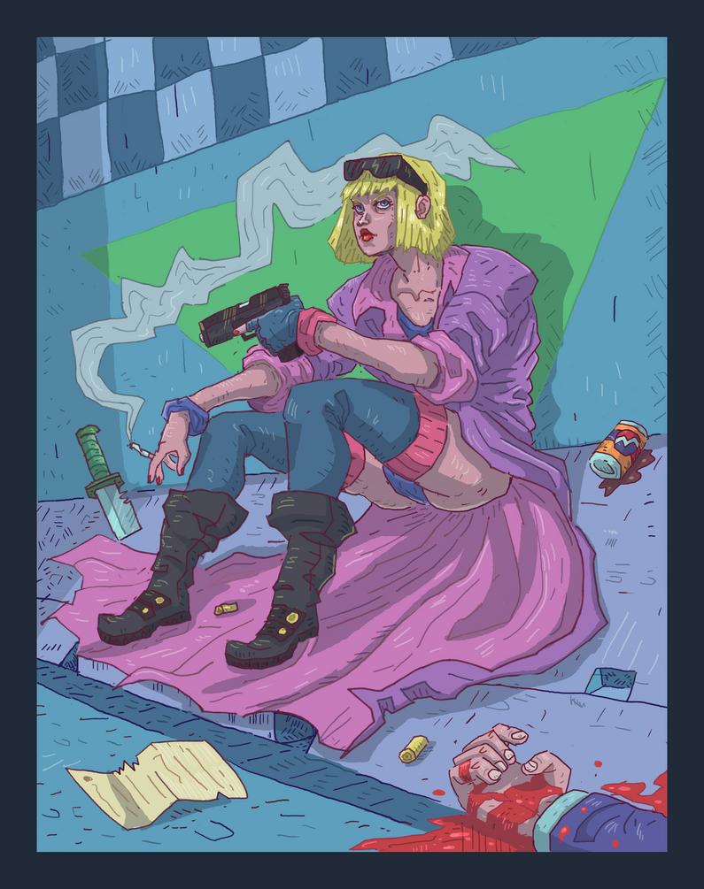 Atomic Blonde by ShawnPrairie